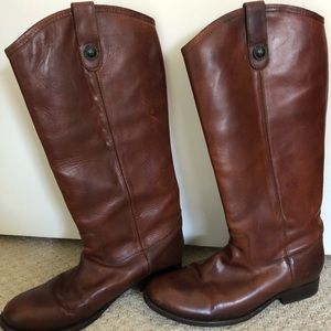 Frye melissa button boot extended calf 8.5